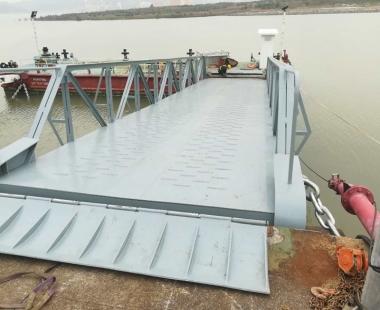 钢引桥项目丨澳门钢引桥完工