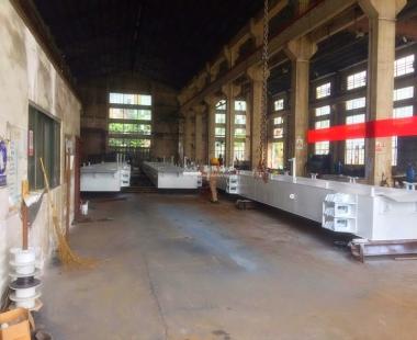 码头项目丨澳门钢质浮箱码头完成预装及涂装