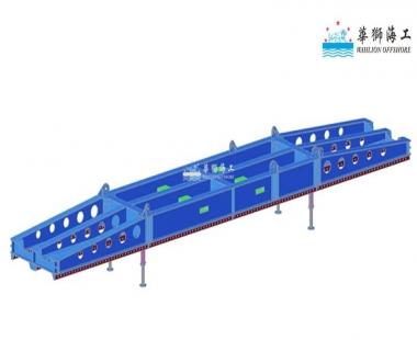船舶项目丨新开发SWL56t纸浆吊具提交客户