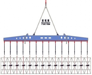 船舶项目丨新开发SWL28t 单列纸浆吊梁交付客户