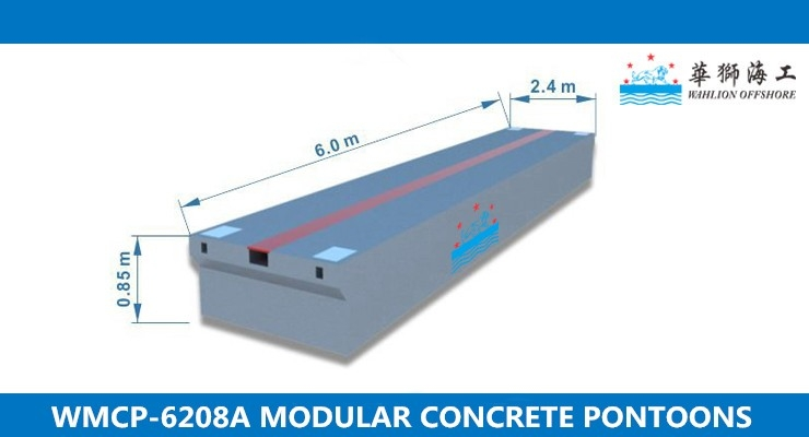 WMCP-6208A Concrete Pontoon